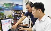 新平郡教育與培訓科透過在線系統檢查招生工作。