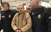 墨西哥大毒梟古斯曼被判終身監禁。圖中是他在2017年落網時被拍到的照片。(圖源:AFP)
