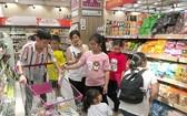 在Aeon連鎖超市購物。