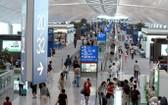 香港機場發生示威影響多航班運作。圖為香港機場一瞥。(示意圖源:互聯網)