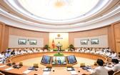 政府會議現場一瞥。