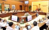 國會常委會第三十六次會議現場。(圖源:越通社)