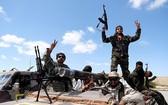支持利比亞東部政權的武裝組織「國民軍」成員。(圖源:互聯網)