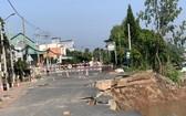 91 號國道坍塌現場。(圖源:寶斗)