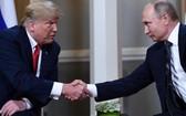 特朗普與普京。(圖源:CNN)