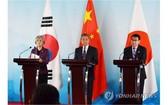 中日韓外長會強調三邊合作重要性