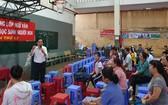 第十二屆華人學生越文語文免費培訓班開課儀式。
