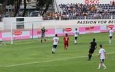 越南U15球隊與俄羅斯U15球隊比賽一瞥。(圖源:互聯網)