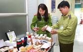 職能力量檢查各種保健品。