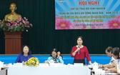 郡婦聯會陳氏秋香提出有關環保的問題。