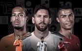 足球先生前3名候選:梅西,C羅,范戴克。(圖源:互聯網)