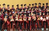 劍橋英語基礎會考第一、二、三級小學以及初中劍橋國際英語水平證書頒發儀式。