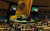 聯合國大會開幕式現場。(圖源:聯合國)