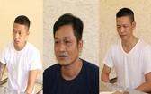 被扣押的3名賭博團夥頭目。(圖源:警方提供)