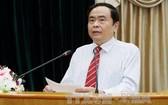 黨中央書記、越南祖國陣線中央委員會主席陳清敏。(圖源:越通社)