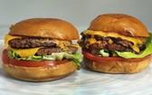美國一公司用人造肉製作的漢堡。(圖源:AP)
