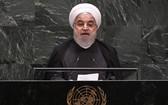 伊朗總統魯哈尼在第74屆聯合國大會一般性辯論上發言。(圖源:新華社)