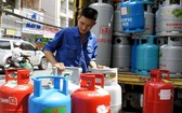 12 公斤瓶裝瓦斯售價暴漲 2 萬 4000元。(示意圖源:田升)