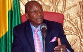 幾內亞共和國總統阿爾法‧孔戴。(圖源:AFP)