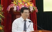 教育與培訓部副部長阮友渡在2019年畢生學習週響應儀式上致詞。(圖源:黎登)