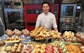 圖為 2018年第五屆世界麵包大賽冠軍陳永信。
