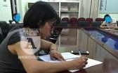 涉事的班主任阮氏水老師被起訴。(圖源:首都安寧報)