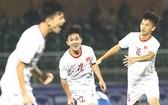越南隊慶祝進球。(圖源:互聯網)
