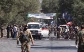 圖為阿富汗首都喀布爾 9月17日發生的一起自杀式爆炸袭击現場。(圖源:新華社)