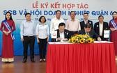 第六郡商會與西貢商業股份銀行(SCB)舉行合作協議簽署儀式。