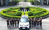 FPT公司的自動駕駛汽車。