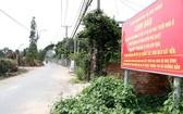 """多處地方政府要設立警示牌以防客戶誤購""""影子""""項目。"""