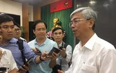 市人委會副主席武文歡接受記者採訪。(圖源:潘英)