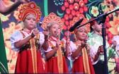 俄羅斯小朋友的文藝表演節目。