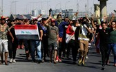 伊拉克示威抗議活動。(圖源:路透社)