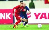 光海是越南隊中場指揮分發球進攻。(圖源:互聯網)
