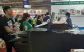 """""""越南國際紡織暨製衣機械展""""(VTG)於今(20)日上午在西貢展會中心開幕。"""