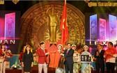 越南體育代表團出征儀式。(圖源:互聯網)