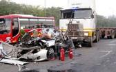 一起嚴重交通事故現場。(圖源:交通報)