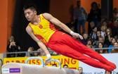 中國體操隊比賽。(圖源:互聯網)