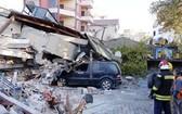 本月26日在阿爾巴尼亞國家發生一場里氏6.4級的地震,這是最近30年來最強的地震,導致逾20人死亡及近600人受傷。(圖源:AP)