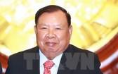 老撾人民革命黨總書記、國家主席本揚‧沃拉吉。(圖源:越通社)