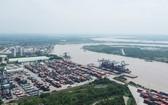 新港富友港口一隅。