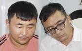 被捕的兩名竊匪 Yagaazad Naranbat(左圖)和Baasanjav Shinebayar。(圖源:警方提供)