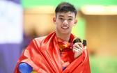 阮輝煌刷新東運會男子 400 米自由泳紀錄。(圖源:互聯網)