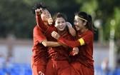 我國女足球隊在半決賽中出色打敗菲律賓主辦國進入決賽。(圖源:順勝)