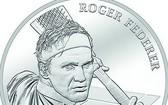 費德勒肖像銀幣。(圖源:互聯網)