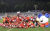越南女足隊成功衛冕再奪東運會金牌。(圖源:互聯網)