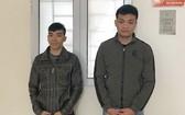 被刑拘的2名嫌犯阮國宇(右)及黎文孝。(圖源:警方提供)