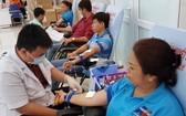 捐血目標是確保從明年1月14至20日在血液儲備庫經常存放1萬5000袋血,為本市春節期間服務。(示意圖源:維姓)