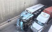 事故現場。(圖源:V.N)